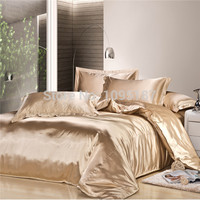 2016 new arrive imetated silk Bedding set home textile bed linen set clothing of bed bedcloth soft silky bedding Queen&King size
