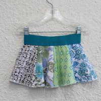 18'24 Month Onsie Skirt for Baby made from Upcycled T Shirts, Baby Skirt made from Recycled Tshirts,IOnsie Skirt, Baby Skirt, Skirt (29)