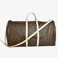 LV Louis Vuitton Fashion Leather Embroidery Luggage Travel Bags Tote Handbag Women Bag