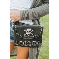 Skull & Stitch Flap/Bottom Messenger