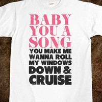 Baby You a Song (Cruise) - Country is Where It's at
