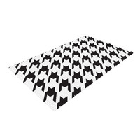 """Empire Ruhl """"Spacey Houndstooth"""" Woven Area Rug"""