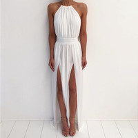 Amelie Double Slit Maxi Dress