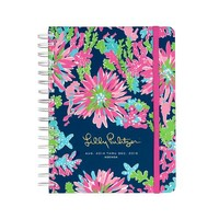 Lilly Pulitzer Trippin' Sippin' Large Agenda   Palmetto Moon