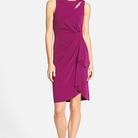 Women's Catherine Catherine Malandrino 'Georgia' Faux Wrap Jersey Dress,