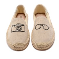 soludos Shoes Casual Canvas Barefoot-Inspired Shoe