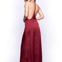 WYLDR Elegance Maxi Dress - Wine