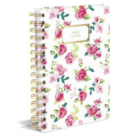 "Pretty Floral Hard Cover ""Take Notes"" Journal"