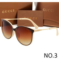 GUCCI 2018 Men's and Women's High Quality Trendy Sunglasses F-ANMYJ-BCYJ NO.3