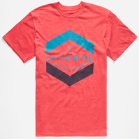 Captain Fin Standard Issue Mens T-Shirt Heather Red  In Sizes
