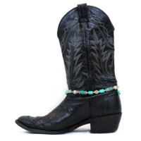 Turquoise Boot Jewelry