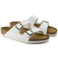Arizona Birko-Flor White | shop online at BIRKENSTOCK