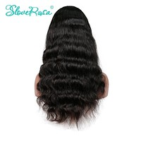 Slove Rosa Body Wave Wigs Lace Front Human Hair Wigs Brazilian Remy Hair Natural Hairline With Baby Hair For Black Women