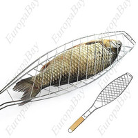 Barbecue Meshes Camping Grill, BBQ Clip for Fish or Meat + Eligible for Free Worldwide Shipping