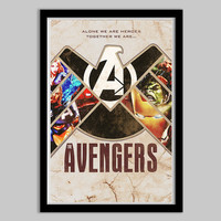 The Avengers - Limited Edition - 13x19 - avengers, super hero, thor, iron man, hulk, captain america, comic book, movie poster