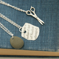 Rock Paper Scissors - Friendship Necklaces