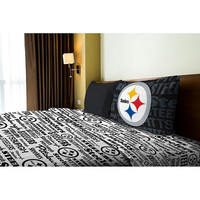 Pittsburgh Steelers NFL Twin Sheet Set (Anthem Series)