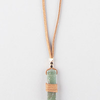 FULL TILT Wrapped Crystal Cord Necklace | Necklaces