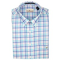 Button Down in Royal Blue Multi-Gingham by Cotton Brothers