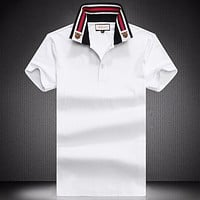 Gucci Fashion Casual Men Shirt Top Tee