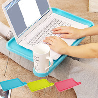 Portable Light Plastic Notebook Desk