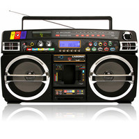 Lasonic i-931BT Bluetooth Compatible Portable Classic Ghetto Blaster Stereo