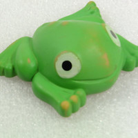 Frog Rubber Vintage Collectible Toy Chew Toy  1980's