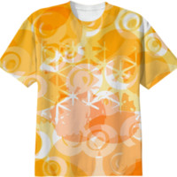 Orange and rings created by LoRo-Boutique | Print All Over Me