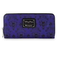 Disney Parks Haunted Mansion Wallpaper Wallet by Loungefly New with Tags