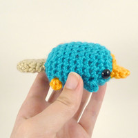 Mini Perry the Platypus  Made to Order  by SyppahsCuteCreations