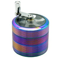 Grinder With Handle 4 Pieces 2 1/2 Inches