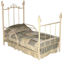 Rabbit Toddler Bed W/ Guard Rails