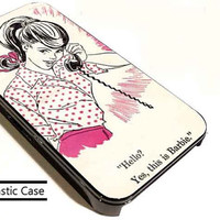 Teen Barbie customized for iphone 4/4s/5/5s/5c , samsung galaxy s3/s4/s5 and ipod 4/5 cases