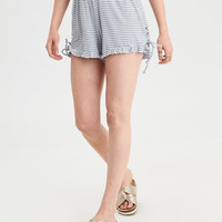AE Lace Up Short, Blue