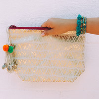 Tribal Cosmetic Pouch