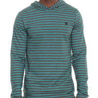 Padington Striped Pullover Hoodie by Zoo York
