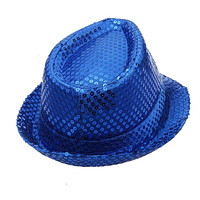 Sequined Fedora Hat (Child and Adult Sizes and Multiple Colors Available!)