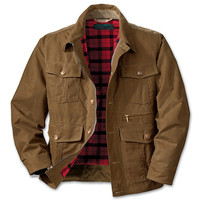 Shelter Cloth Westlake Waxed Jacket - Extra Long