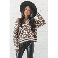 My Way Or The Highway Leopard Sweater