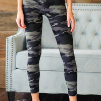 * Nothing Compares To You Camo Leggings