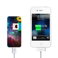 Galaxy Adventure Time Power Bank External Battery Charger for iPhone and Samsung Andriod