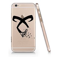 Shadowhunter Runes Angelic Power Clear Transparent Plastic Phone Case Phone Cover for Iphone 6 6s_ SUPERTRAMPshop (iphone 6)