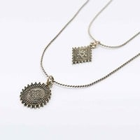 Elmas Gold Charm Layering Pack - Urban Outfitters
