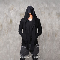 Vlad Huge Hooded Silky Cardigan