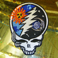 Grateful Dead Steal Your Sun Moon Patch SYF hippie