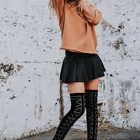 JEFFREY CAMPBELL | Cienega-St Over the Knee Boot