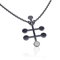 Ethanol molecule | Alcohol necklace | science jewelry | chemistry necklace -sterling silver necklace