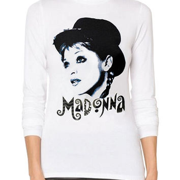 Madonna Retro 1980s Material Girl Turtleneck Sweater