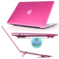iPearl mCover Hard Shell Cover Case with FREE keyboard cover for 13.3-inch Apple MacBook Air A1369 & A1466 - PINK