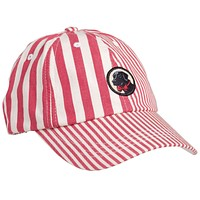 Patchwork Frat Hat in Red Madras by Southern Proper